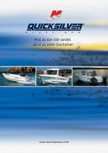 Hvis du kan lide vandet, så vil du elske Quicksilver - mercurymarine.dk