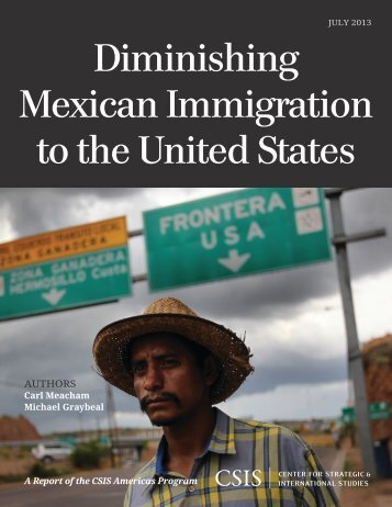 Diminishing Mexican Immigration to the United States - Center for ...