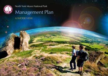 Management Plan - North York Moors National Park