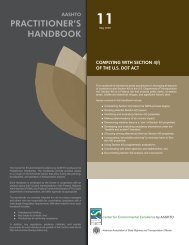 PrAcTiTiOner'S HAndbOOk - Center for Environmental Excellence