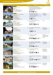 Ferienwohnungen bis 4 Betten - Tourist-Info-Diessen am Ammersee