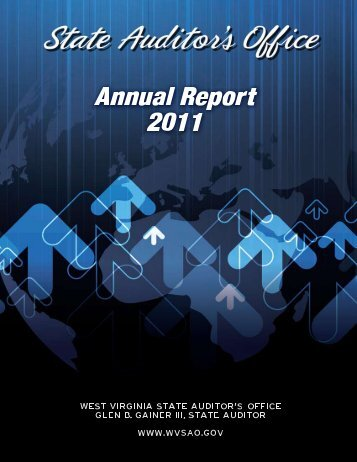 2011 Annual Report - West Virginia State Auditor's Office