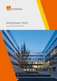 Referenzen 2012 aus Deutschland - DW Systembau GmbH
