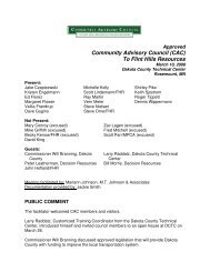 March 10, 2008 Approved Minutes - Community Advisory Council to ...