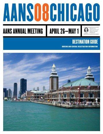 2008 Destination Guide - American Association of Neurological ...