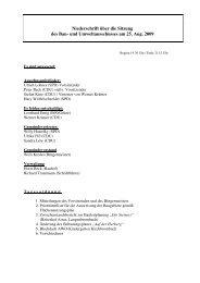 Sitzung des Bau- und Umweltausschusses am 25 ... - Brombachtal