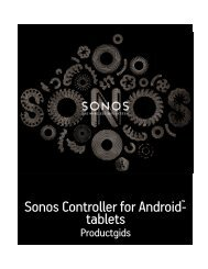 Sonos Controller for Android-tablets - Almando