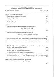 Klausur zur Vorlesung Einführung in die Berechenbarkeitstheom'e ...