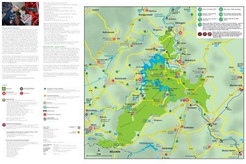 Nationalpark Eifel Karte.Auf Einen Blick Nationalpark Eifel