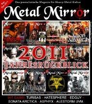 Den Jahresrückblick könnt ihr HIER kostenlos ... - Metal Mirror
