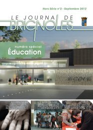 Éducation - Ville de Brignoles