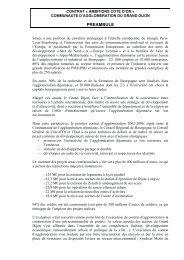 CACO Grand Dijon - Conseil général de Côte-d'Or