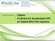 Culises: A Library for Accelerated CFD on Hybrid GPU-CPU Systems
