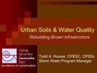 Urban Soils & Water Quality - Friends of Big Creek