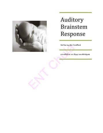 auditory brainstem response (abr)