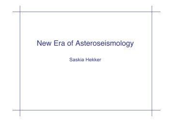 New Era of Asteroseismology