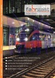 Oktober 2013 2,- Euro das ma g azin für fahrg äste - Fahrgast Kärnten