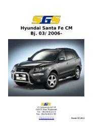Hyundai Santa Fe CM Bj. 03/2006- - SGS