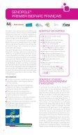 Annuaire Genopole - Partie Institutionnelle - 2011 - Page 4
