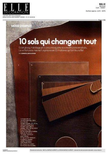 10 sols qui changen - Béton ciré