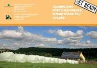 Atjaunojamo energoresursu izmantošana ēku apkurē - Rīgas ...