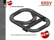ERS ROLLER CONVEYORS NEW ALUMINIUM ... - easy systems