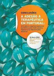 A ADESÃO À TERAPÊUTICA EM PORTUGAL - Apifarma