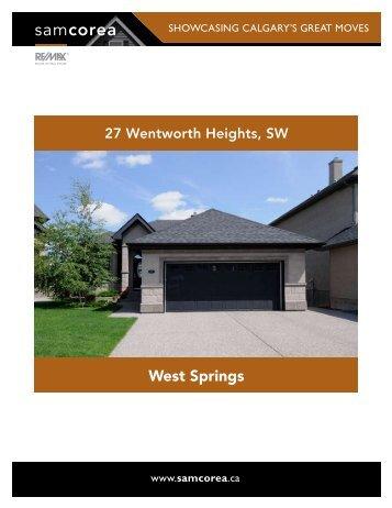 West Springs - Sam Corea