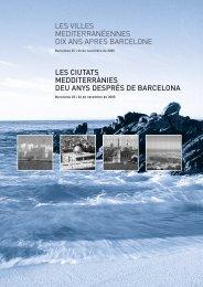 première partie du rapport - Institut de la Méditerranée