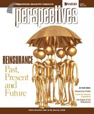 Reinsurance: Past, Present and Future - Nailba