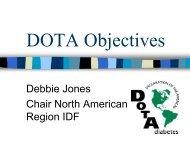 DOTA Objectives
