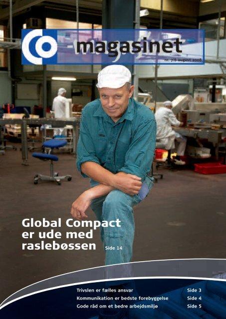 Global Compact er ude med raslebøssen - CO-industri