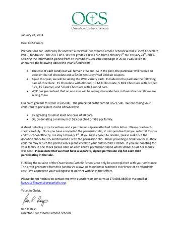 Permission slips - Owensboro Catholic Schools