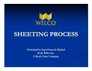 Pug 2008 - Sheeting process - Radius