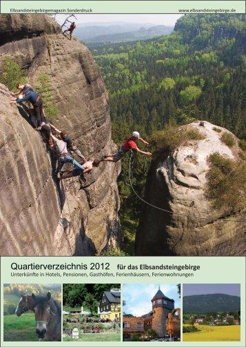 Quartierverzeichnis - Elbsandsteingebirge - Sächsische Schweiz ...