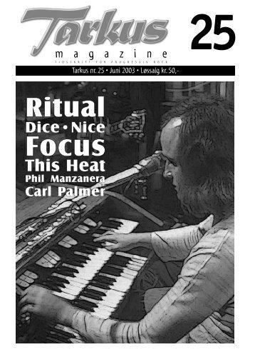 Tarkus nr 25 - Tarkus Magazine