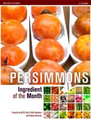 Persimmons - Clemson University