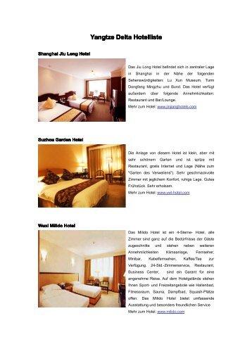 Shanghai Jiu Long Hotel - Visit China Guide
