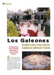 Restaurante Los Galeones - TAT Revista