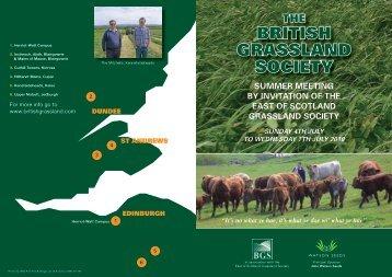 here....... - British Grassland Society