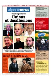 Fr-22-06-2013 - Algérie news quotidien national d'information