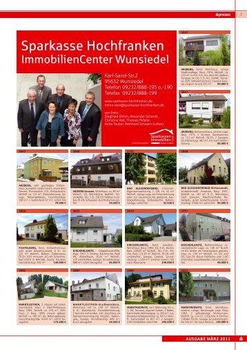Weitere Immobilien- angebote - Sparkasse Hochfranken