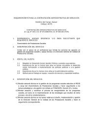 ACPS - Ministerio de Desarrollo e Inclusión Social