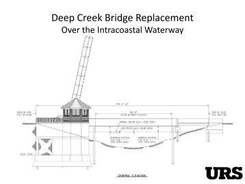 Deep Creek Bridge Replacement - AASHTO - Subcommittee on ...