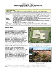 Environmental Services Design Report - Vand i Byer