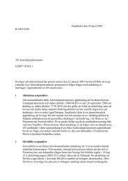 Några frågor med anledning av ändringar i kapitaldirektivet
