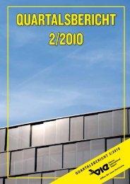 Quartalsbericht 2/2010 - Flughafen Wien