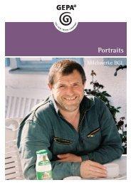 Portraits Portraits - GEPA Faire Milch