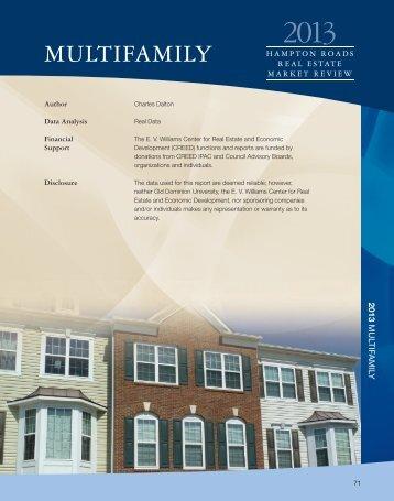 MULTIFAMILY - Old Dominion University