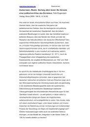 Zuckermann, Moshe: Sechzig Jahre Israel. Die ... - Genfer Initiative